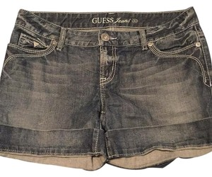 Guess Cuffed Shorts Denim