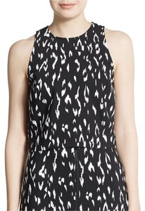 Rachel Zoe Animal Print Crop Size 8 Sleeveless Top