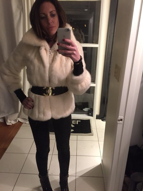 Catherine J Gilbert Fur Fox Mink Sable Chinchilla Monogram Coat