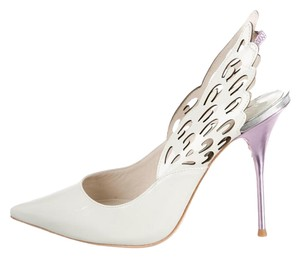 Sophia Webster Angelo Lunar Lunar Angelo Angelo Lunar 100 White Pumps