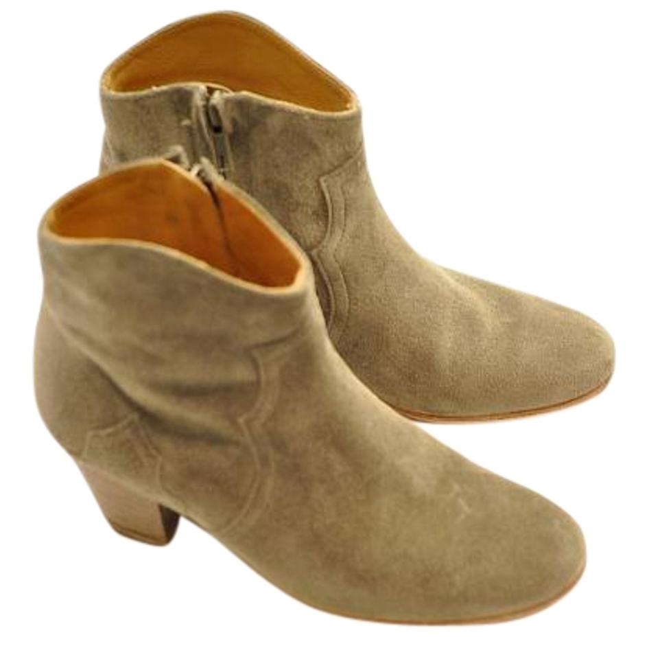 Isabel Marant Taupe Gaucho Gaucho Taupe Dicker Boots/Booties 95b1a9