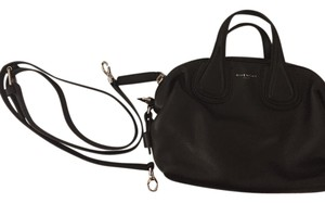 Givenchy Leather Calfskin Satchel in Black