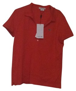 Lacoste Polo T Shirt Orange