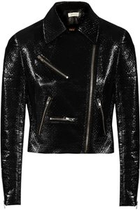 A.L.C. black Leather Jacket