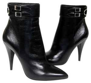 Saint Laurent Chanel Valentino Studded Black Boots