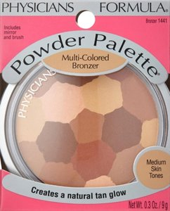 Physicians Formula Physicians Formula Powder Palette Color Corrective Powders, Multi-colored Bronzer 1441