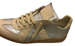 Maison Margiela Beige, Silver Athletic