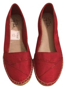 LifeStride Espadrille Red Flats