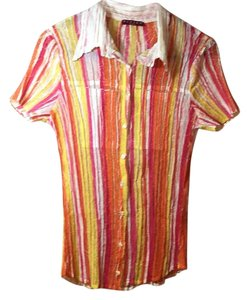 Kisca By Komarov Button Down Shirt Multi color