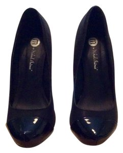 Michael Antonio Hidden Platform Black Pumps