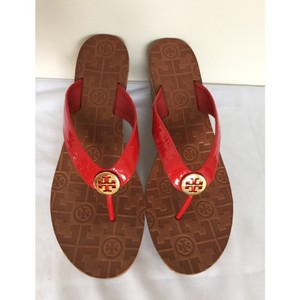 Tory Burch Red Wedges