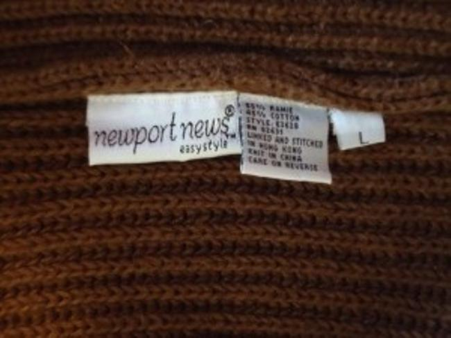 Newport News Ramie/Cotton Blend Shrug Style Cardigan