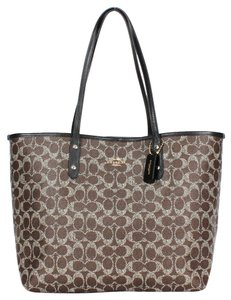 Coach Travel Oversized Large Tote Brown Travel Bag