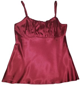 IZ Byer California Spaghetti Strap Top Red