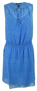 Lauren Ralph Lauren short dress Blue Woven on Tradesy