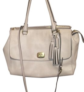 Coach Tote Satchel in White