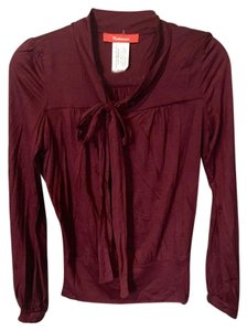 Anthropologie Cartonnier Retro Top Red