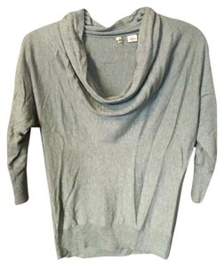 Anthropologie Moth Cowl Neck Top Mint green