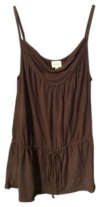 Ella Moss Cami Boho Top Brown striped