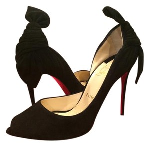 Christian Louboutin Barbara Heels Black Pumps