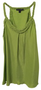 Banana Republic Silk Silk Dressy Shirt Office Top Green