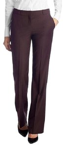 Hugo Boss Tropical Stretch Wool European Trouser Pants Brown
