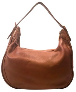 Michael Kors Studded Leather Leather Hobo Bag