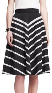 Banana Republic Skirt Black white