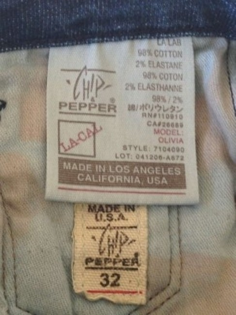 Chip and Pepper Barely Worn Size 32 Which Fits Like 10/12 Boot Cut Jeans