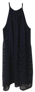 London Times short dress Navy on Tradesy