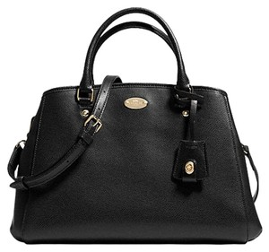 Coach Crossbody Carryall 34607 Satchel in Black
