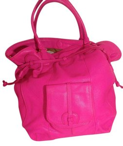 Isaac Mizrahi Live! Live Purse Satchel in pink