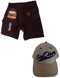 Carhartt Shorts Dark Brown