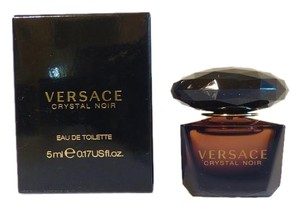 Versace New Crystal Noir Women's Mini Fragrance, 5 ml .17 oz.