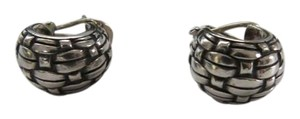 John Hardy John Hardy Sterling Silver Buddha Belly Earrings