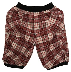 Fall Small Size Mini/Short Shorts Red