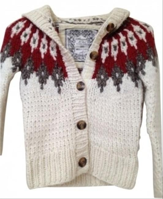 Preload https://item1.tradesy.com/images/abercrombie-and-fitch-button-closure-white-with-a-red-and-grey-detailing-sweater-17430-0-0.jpg?width=400&height=650