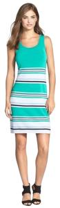 Tommy Bahama short dress Teal Blast Metallic on Tradesy