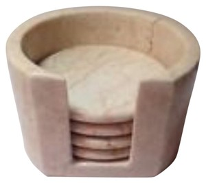 Other Marble Coaster Set With Marble Holder Set Of 4