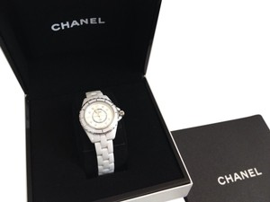 Chanel CHANEL J12 NANO 29 MM WHITE CERAMIC WATCH DIAMOND MARKERS $6800+