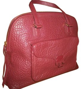 Tory Burch Satchel in Dark Plum