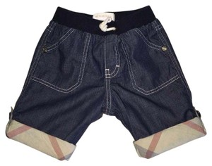 Burberry Cuffed Shorts Blur