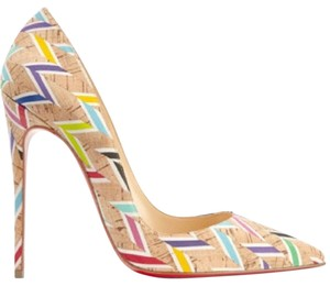 Christian Louboutin So Kate Multicolor Pumps