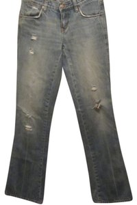 Ralph Lauren Boot Cut Jeans-Distressed