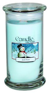 The Candle Factory The Candle Factory Large 15-ounce Jar Crackling Candle, Jack Frost