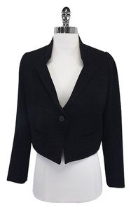 Smythe Black Wool Jacket
