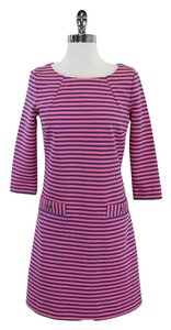 Lilly Pulitzer short dress Pink & Blue Striped on Tradesy