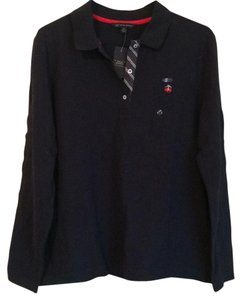 Brooks Brothers Button Down Shirt Navy Blue