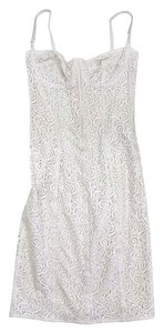 Dolce&Gabbana short dress Ivory Lace Bodycon on Tradesy