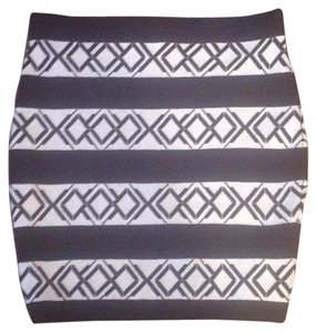 Rebecca Minkoff Mini Skirt Navy, cream
